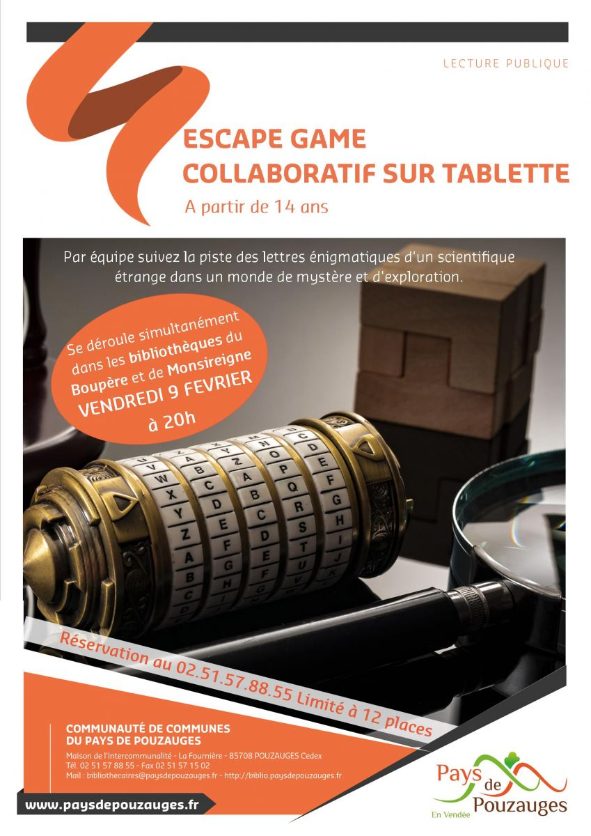 Atelier escape game