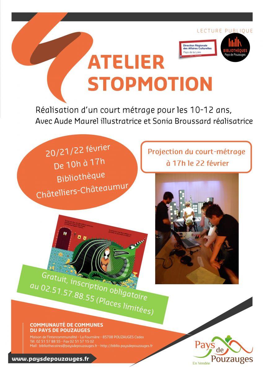 f68149687e28 Atelier Stopmotion du 20 au 22 février